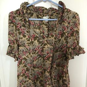 Fall Anthro blouse